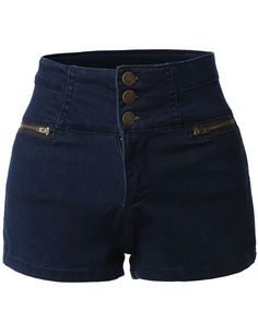 Nautical Denim Jean Shorts for women with high waist and . Nautical Denim Jean Shorts for women with high waist and . # Super Skirt High Waisted Denim Ideas Fjällräven W Keb Trousers Curved Short (Winter 2018 model) Outfit Jeans, Short Outfits, Summer Outfits, Denim Jeans, Nautical Shorts, Stretch Jeans, Sailor Shorts, Blue Jean Shorts, Tokyo Street Fashion