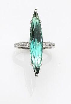 A tourmaline and diamond ring, Nardi