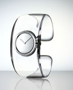 "Transparent Wristwatch - ""O"" by Tokujin Yoshioka for Issey Miyake"