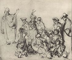 Do You Enjoy The Paintings Of Rembrandt Birthday Today)? - Page 3 Brush Drawing, Life Drawing, Figure Drawing, Drawing Sketches, Painting & Drawing, Art Drawings, Graphite Drawings, Rembrandt Etchings, Rembrandt Drawings
