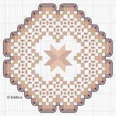 Drawn Thread, Hardanger Embroidery, Coasters, Cross Stitch, Christmas Tree, Holiday Decor, Projects, Pattern, Crafts