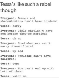 The Mortal Instruments Joke