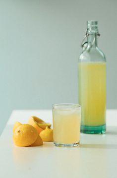 Lemonade with A Honey Syrup.
