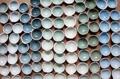 colour ceramics, handmade by Kirstievn