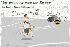 """""""Sie haben mich #umringt wie #Bienen; sie sind #erloschen wie ein #Dornenfeuer; im #Namen des #Herrn schlage ich sie."""" #Psalm 118:12 #glaubensimpulse"""