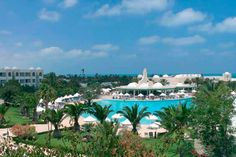 The Hotel Riu Palace Royal Garden (All Inclusive), a luxurious hotel on the Island of Djerba, Tunisia, was built in a shape of a half moon and is the perfect place to enjoy the best views to the sea. Hotel Riu Palace Royal Garden - Hotel in Island of Djerba, Tunisia - RIU Hotels & Resorts