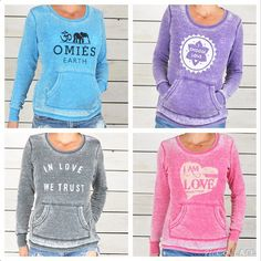 """So Excited to introduce the """"SuperLoveTees Perfect Thermal""""!! Lightweight & super-soft burnout, perfect flattering fit, and available in 4 colors. These comfy lovelies are like candy!! (if I was eating sugar)"""