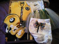 Baby girl Packer gift set