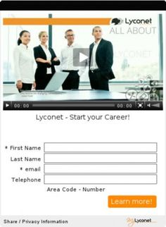 Lyconet - Start your Career!
