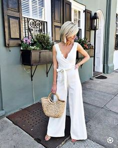 Per your request Im sharing the top ten most purchased items from March on the blog today Im also sharing a few of my favorite looks from the month that I just cant get enough of  This straw tote was number five on the list You cant beat this under  carry all  Im also still so in love with this jumpsuit So perfect for summer  Click the link in my bio for todays post Outfit details here liketoknowit httpliketkitveyY liketkit LTKunder LTKitbag LTKstyletip styletips anthropologie anthrolove…