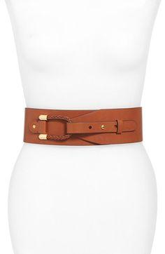 Lauren Ralph Lauren Braided Loop Wide Belt available at #Nordstrom