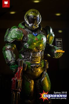 Post with 1489 votes and 95188 views. Tagged with gaming, cosplay, video games, doom; Shared by Doom Slayer Cosplay. Doom 4, Doom Game, Cosplay Armor, Cosplay Costumes, Cosplay Ideas, Doom 2016, Slayer Meme, Military Drawings, Sci Fi Armor