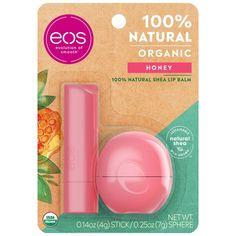 Organic Lip Balm, Natural Lip Balm, Natural Honey, Eos Lip Balm, Lip Balms, Honey Sticks, Tom Ford Makeup, Dry Lips, Chapped Lips