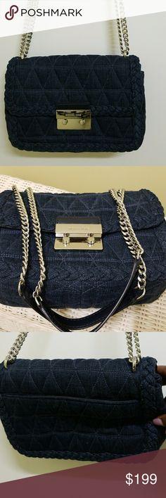 0a3593e1f7 MICHAEL KORS SLOAN SHOULDER BAG 🔸️Pre-loved like New, used 2x clean inside
