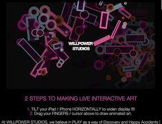 INTERACTIVE ANIMATION | WILLPOWER STUDIOS