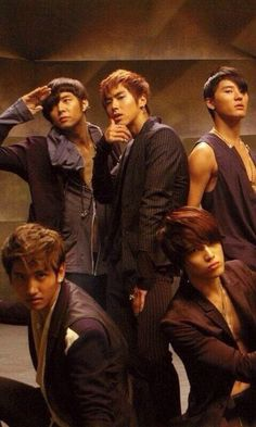 tvxq as five in the mirotic mv
