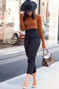 47 Cute Winter Outfits Precise for Work - Fashion Moda 2019 Classy Work Outfits, Spring Work Outfits, Cute Winter Outfits, Business Casual Outfits, Business Attire, Business Chic, Fall Outfits, Corporate Attire, Casual Winter
