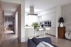 modern extension to period home in Belfast by McCann Moore Architects Kitchen Decor, Kitchen Design, Open Plan, Home Improvement, Belfast, Architects, Modern, Furniture, Period