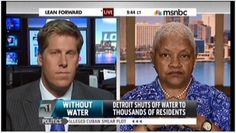 """""""Detroit activist slams reporter on air for misreporting water crisis"""" And she's interrupted so much and right off the bat! There's a recent study about how interrupting is a sign of social dominance that is just accepted that men do, but that disempowered groups are not, as though their speech is less important. It is clear here that this woman's speech was devalued. Even if they felt defensive about her directness, shame on them for interrupting (and shame on them for the misinformation!)."""