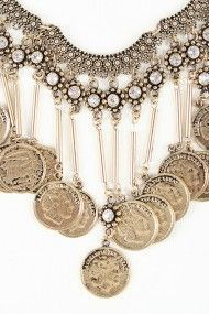 Triple Curve Chain Necklace #urbanog