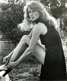 Charlotte Rampling in Caravan to Vaccares, 1974.