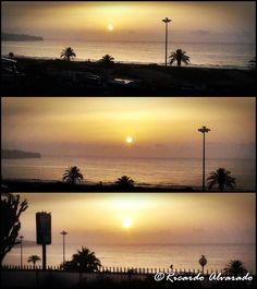 dawns in the south of Gran Canaria