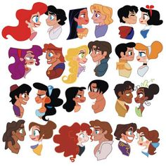 Disney princess couples