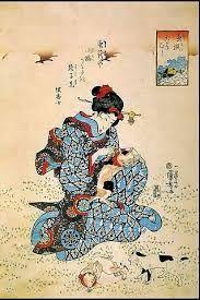 Utagawa Kuniyoshi cats - Buscar con Google