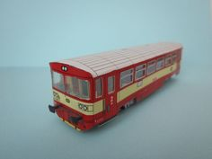 ČD Class 810 Free Tramcar Paper Model Download… More