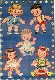 CHILDREN PAPER DOLLS - keehler.janet9 - Álbumes web de Picasa