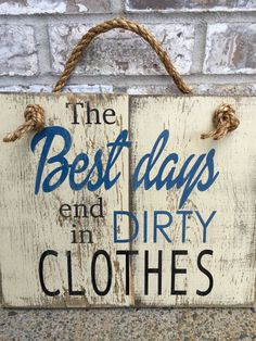 Dirty Clothes Rustic Sign - Bathroom Decor - Laundry Room Decor - Home Decor - Rustic Signs - Signs - Wooden Signs - Distressed - Farmhouse by RedRoanSigns on Etsy Diy Home Decor Rustic, Rustic Bathroom Decor, Rustic Farmhouse Decor, Rustic Kitchen, Vintage Home Decor, Bedroom Rustic, Rustic Shower, Modern Farmhouse, Rustic Outdoor