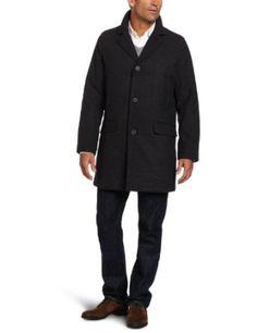 Tommy Hilfiger Men's Fancy Top Coat