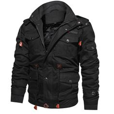 55cdd2450 WEEKLY DEAL - Men's Patriot Fleece Lined Bomber Jacket
