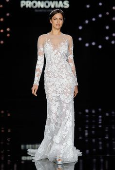 Brides: Pronovias Wedding Dresses - Spring 2017 - Bridal Fashion Week