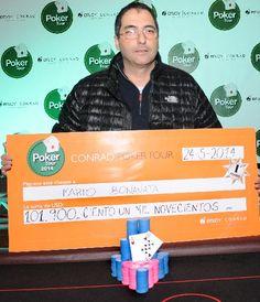Mario Bonanata se queda con la 4ta fecha del Conrad Poker Tour 2014