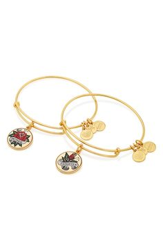 Matching Alex and Ani bracelets with mom is the perfect go-to gift for Mother's Day. This darling gold bangle will be a great addition to the collection!