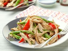 Chinese Chicken Salad recipe from Ina Garten via Food Network
