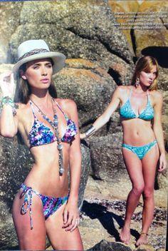 SOMBRERO PANAMA #DELACUCA REVISTA HOLA ARGENTINA  8/01/2013 Bikinis, Swimwear, Fashion, Printing Press, Sombreros, Argentina, Bathing Suits, Moda, Swimsuits