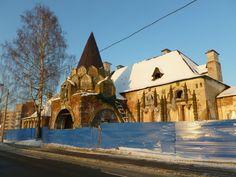 Tsarskoe Selo abandoned Imperial Train Station.