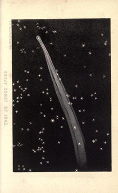 Great Comet of 1843, A Popular Treatise on Comets, James C. Watson, 1861.