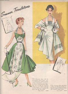 love the use of color blocking on the green one to narrow the waist and hips and widen the bust.