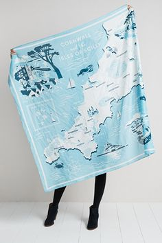 Scenic Scarf #SeasaltComfortandJoy