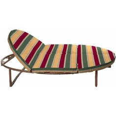 Orbit Double Lounger Cushion Set, Solid Sesame $169 ...