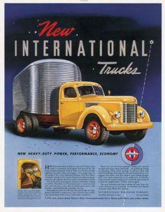 International Harvester truck - 1941 International Trucks ad