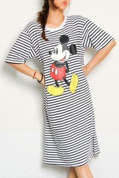 Today's Hot Pick :Mickey Mouse Print Dressy T-Shirt http://fashionstylep.com/SFSELFAA0001995/happy745kren/out High quality Korean fashion direct from our design studio in South Korea! We offer competitive pricing and guaranteed quality products. If you have any questions about sizing feel free to contact us any time and we can provide detailed measurements.