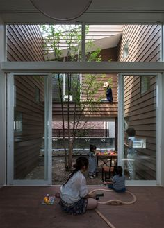 A Modern Japanese House With A Surprise Garden Inside Photo