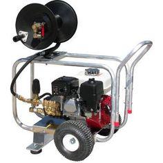 J D3024hg Pressure Pro Gp Sewer Jetter Drain Cleaner 2400 Psi 3 Gpm Honda