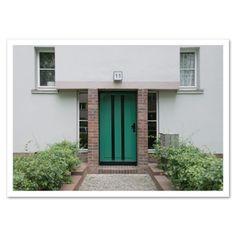 Fotokarte »Hausnummer 11« http://dickoepfig.ch/produkt/fotokarte-hausnummer-11/ #11 #haus #maison #fussball