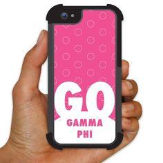 Gamma Phi Beta iPhone 5/5s BruteBoxTM Protective Case - Go! Circles