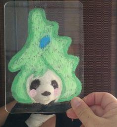2014/9/21掲載 キットパスエソラを使った「顔ハメ」作品。あたまがふくしまちゃん&ぬいぐるみバージョン。 https://www.facebook.com/kitpas2005 #kitpas #キットパス #キットパスエソラ